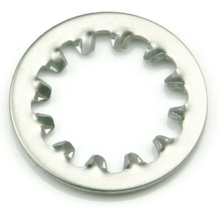 """1/2"""" Internal Tooth Lock Washer 18-8 Stainless Steel - QTY 250"""