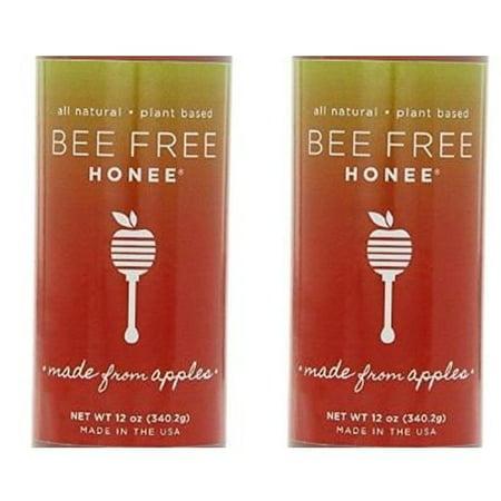 Honee Bee-Free Plant Based Vegan Honey Original 12 Oz (Pack of