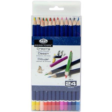 Royal Colour Pencil (Royal Brush Color Pencils, 24-Pack )
