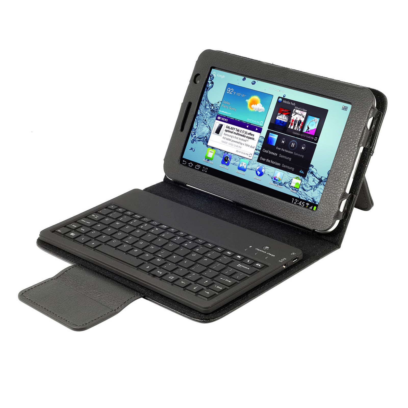 "Bluetooth Keyboard Folio for Samsung Galaxy Tab 2 7.0"" Tablet (87646)"
