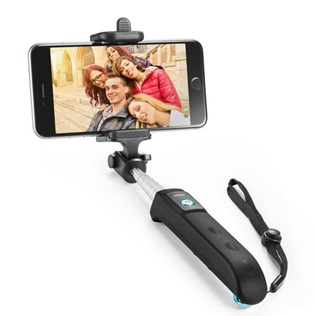 selfie stick anker new generation bluetooth selfie stick with adjustable p. Black Bedroom Furniture Sets. Home Design Ideas