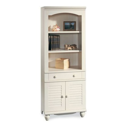 - Sauder Harbor View Library With Doors, Multiple Finishes - Walmart.com