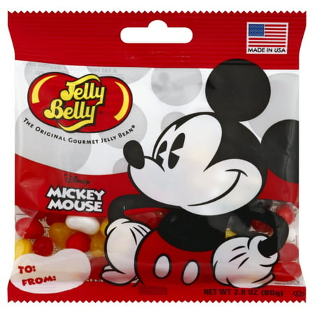 Jelly Belly, Mickey Mouse Mickey Mouse Jelly Beans, 2.8 Oz (Jelly Bean Poem)
