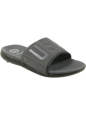 389b1c374114 Product Image Hurley Phantom Free USA Slide Sandals Black Mens