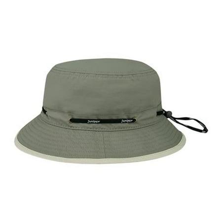 a1d2736be92 Juniper J7267 Taslon UV Lookout Bucket Hat  44  Olive - Medium ...