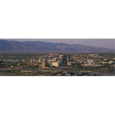 Images panoramiques PPI62427L High angle de vue d'un paysage urbain Tucson Arizona USA d'affiche par images panoramiques - 36 x 12 - image 1 de 1