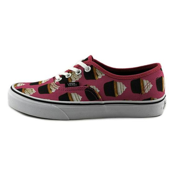 7b8d5dbd4c6347 Vans - Vans Authentic Late Night Hot Pink   Cupcakes Ankle-High Canvas  Skateboarding Shoe - 9M 7.5M - Walmart.com