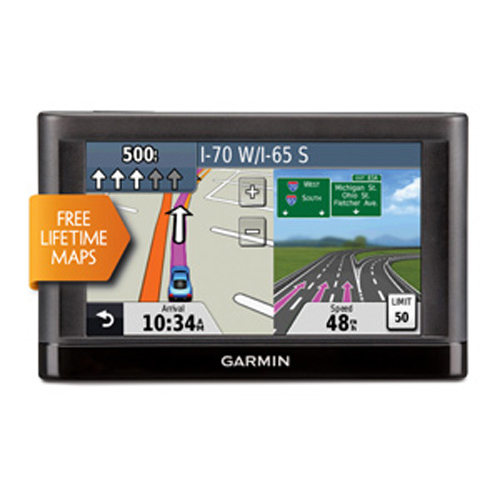 "Garmin Refurbished nuvi 42LM 4.3"" GPS Navigator with U.S. Coverage and Lifetime Maps"