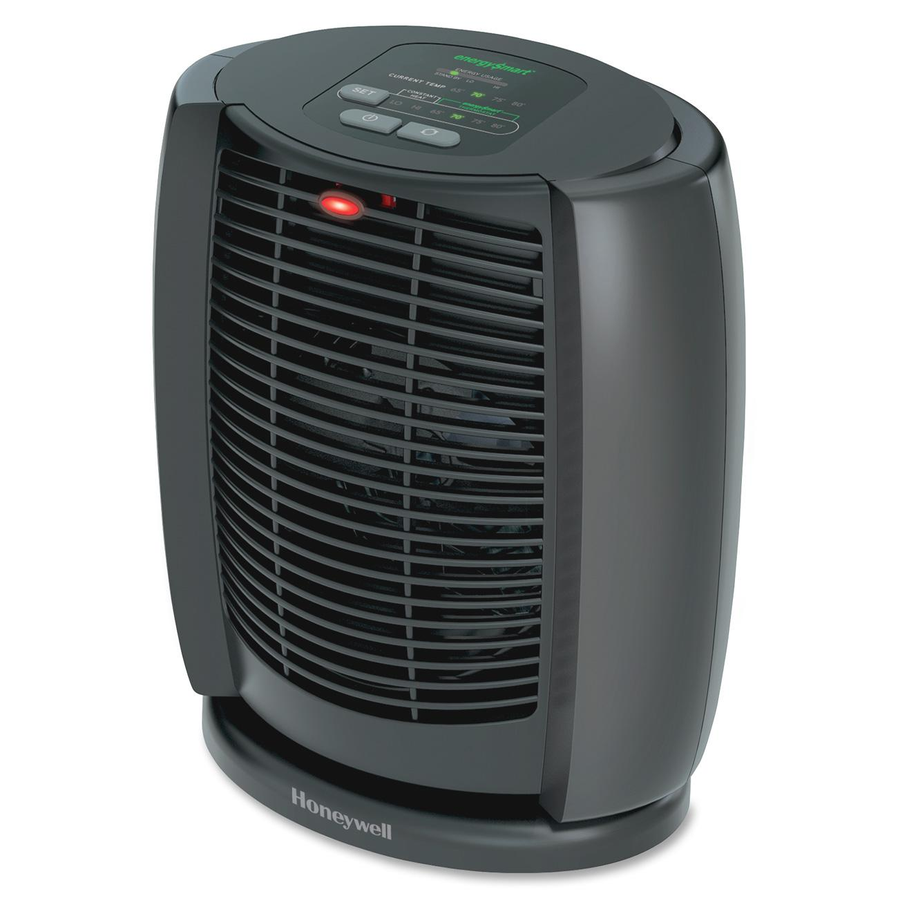 Honeywell, HWLHZ7300, HZ-7300 EnergySmart Cool Touch Heater, Black