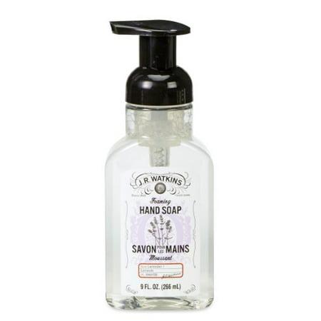 J.R. Watkins Foaming Hand Soap, Lavender, 9 Oz