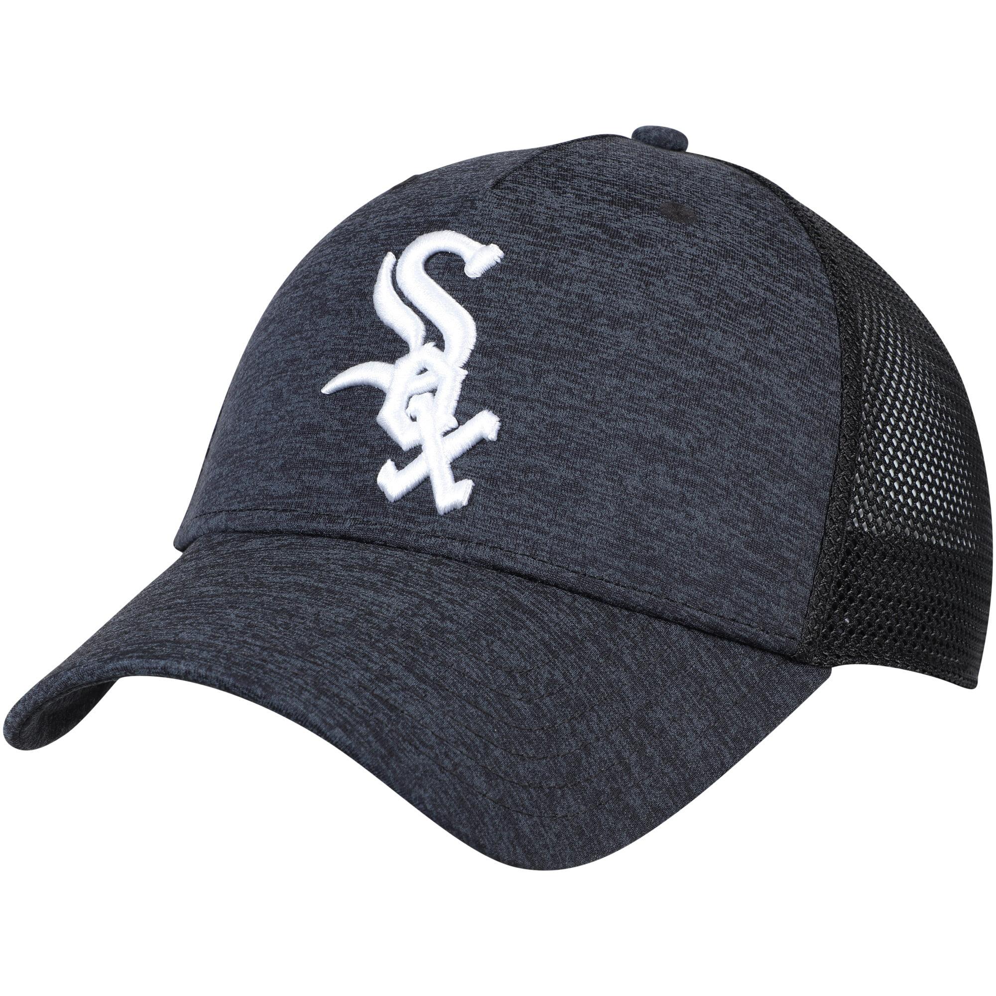 Chicago White Sox Under Armour Twist Closer Trucker Performance Adjustable Hat - Black - OSFA