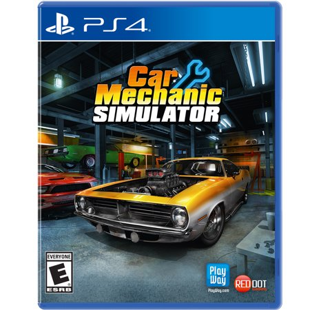 Car Mechanic Simulator, Maximum Games, PlayStation 4, (Best Car Shooting Games)