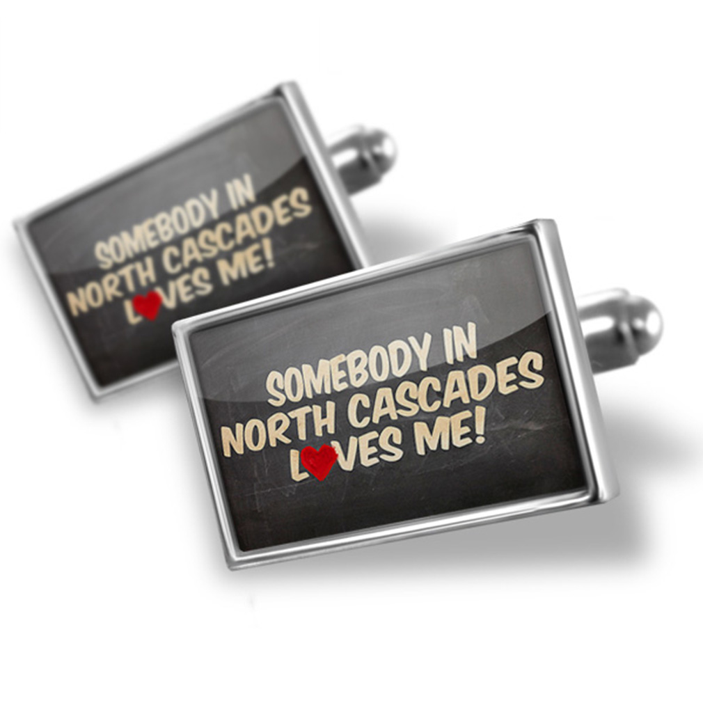 Cufflinks Somebody in North Cascades Loves me, Washington, National park - NEONBLOND