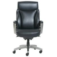 La-Z-Boy Arcadian Bonded Leather Executive Chair (Black)
