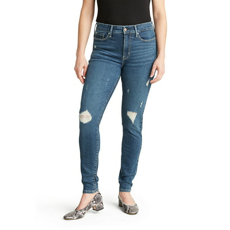Signature by Levi Strauss & Co. Women's High Rise Skinny Jeans