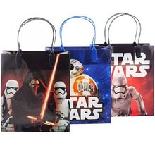 Star Wars Party Favor Goodie Small Gift Bags 12 (Star Wars Favor Bags)