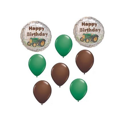 John Deere Tractor Balloons Party Supplies 1 Piece
