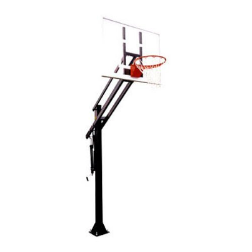 First Team Attack III Residential Adjustable Inground Basketball System
