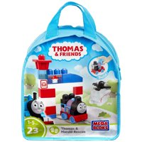 Mega Bloks Thomas & Friends Thomas & Harold Rescue 23-Piece Set