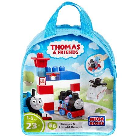 Mega Bloks Thomas & Friends Sodor Search and Rescue Center - Thomas and Harold