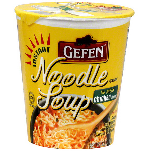 Gefen Instant Chicken Flavor Noodle Soup, 2.3 oz (Pack of 12)