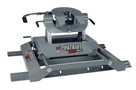 B&W RVK3270 Patriot 5th Wheel Trailer Hitch Patriot 18K Slider by B%26W Hitches