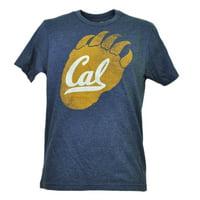 NCAA California Golden Bears Cal Tshirt Tee Mens Navy Short Sleeve Paw Logo XL