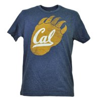 NCAA California Golden Bears Cal Tshirt Tee Mens Navy Short Sleeve Paw Logo XL