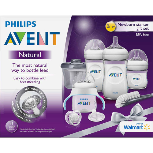 Philips AVENT Natural Gift Set, Wal-Mart Exclusive