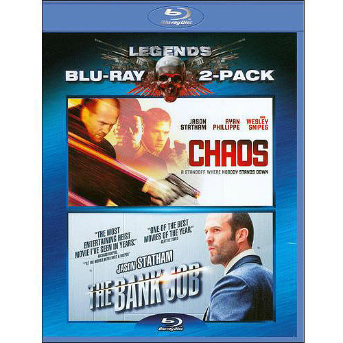 Chaos / The Bank Job (Blu-ray) (With INSTAWATCH) (Widescreen)