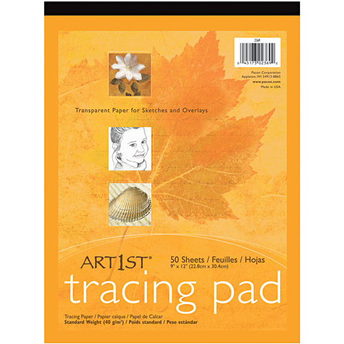 Pacon Art1st Parchment Tracing Paper, 19 x 24, White, 50 Sheets