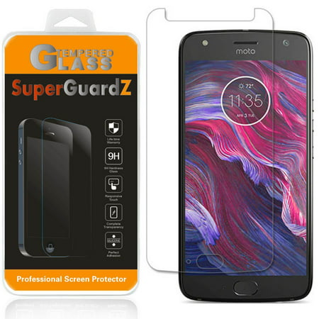 For Motorola Moto X4 / Moto X (4th Gen) - SuperGuardZ Tempered Glass Screen Protector, 9H, Anti-Scratch, Anti-Bubble, - Halloween Art For 4th Class