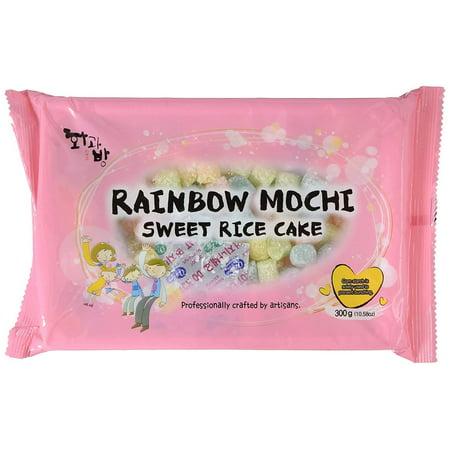Mochi Sweet Rice Cakes MINI Sweet Rice Cake - Rainbow 300G 10.58oz by BobaStore](Frozen Cake Walmart)