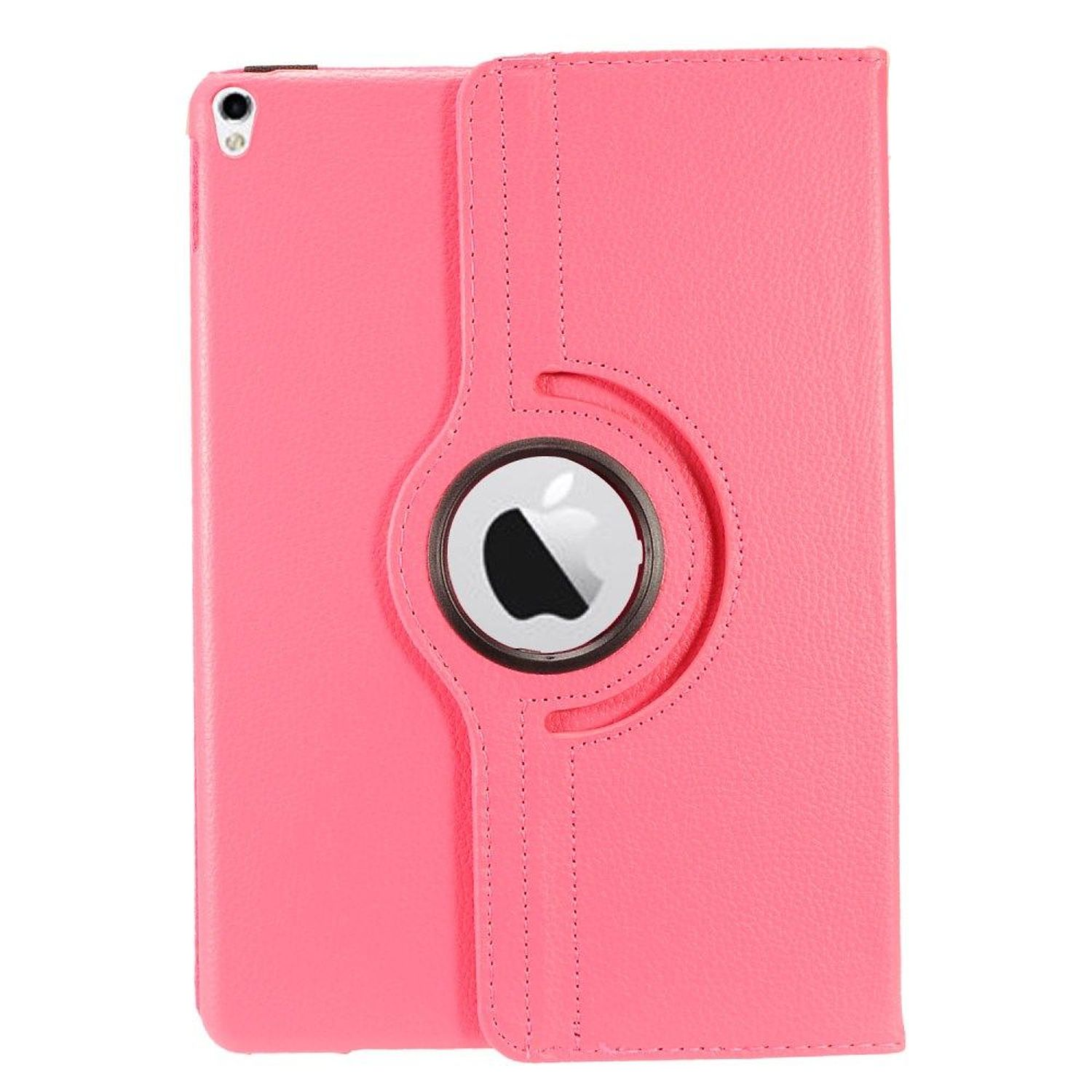"Insten Book-Style Leather Fabric Cover Case w/stand For Apple iPad Pro 10.5"" - Pink"