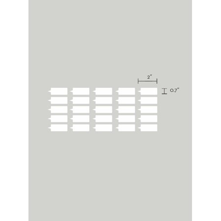 Growth Chart Markers (Color: Key Lime Pie) - Children's Vinyl Wall