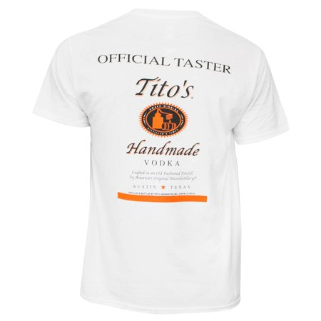 Tito's Vodka Taster Tee Shirt