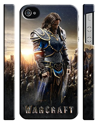 Ganma Warcraft 2016 Case For Iphone 4 4s Hard Case Cover