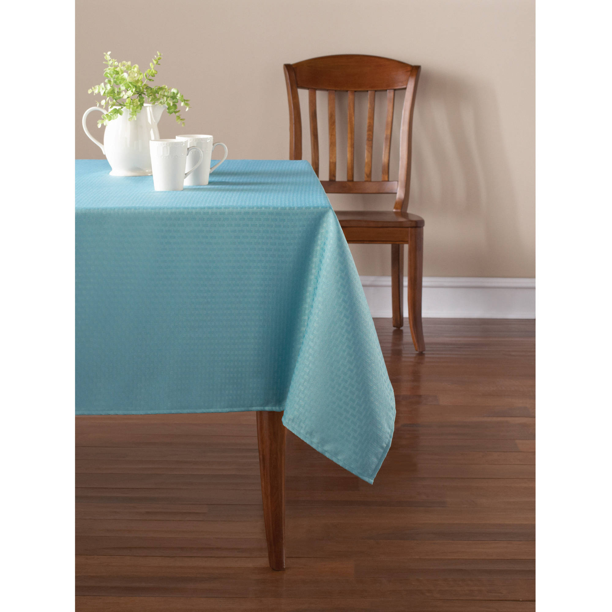 Mainstay Blue Topaz Tablecloth