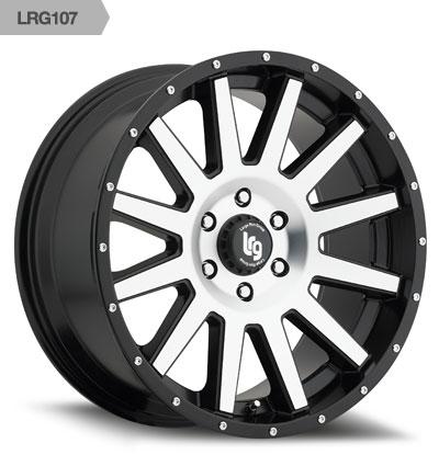 LRG Wheels 10729082312N Wheel 107 Series  - image 1 de 1