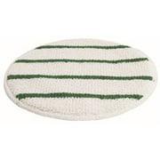 Renown Carpet Bonnet Pad 21'' Low Profile With Green Strips