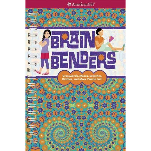 Brain Benders: Crosswords, Mazes, Searches, Riddles, and More Puzzle Fun!