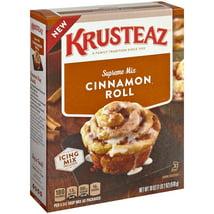Baking Mixes: Krusteaz Cinnamon Roll Mix