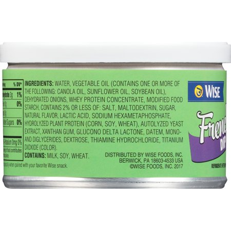 Wise French Onion Dip, 8 5 Oz