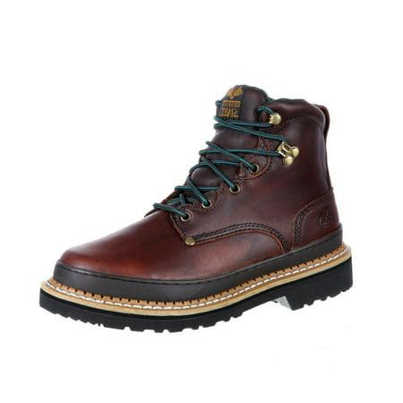 Georgia Brown Leather (georgia boot work mens 6