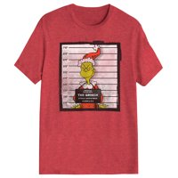 Grinch Shirt Men's The Grinch Movie Arrested Police Lineup Stole Christmas T-Shirt