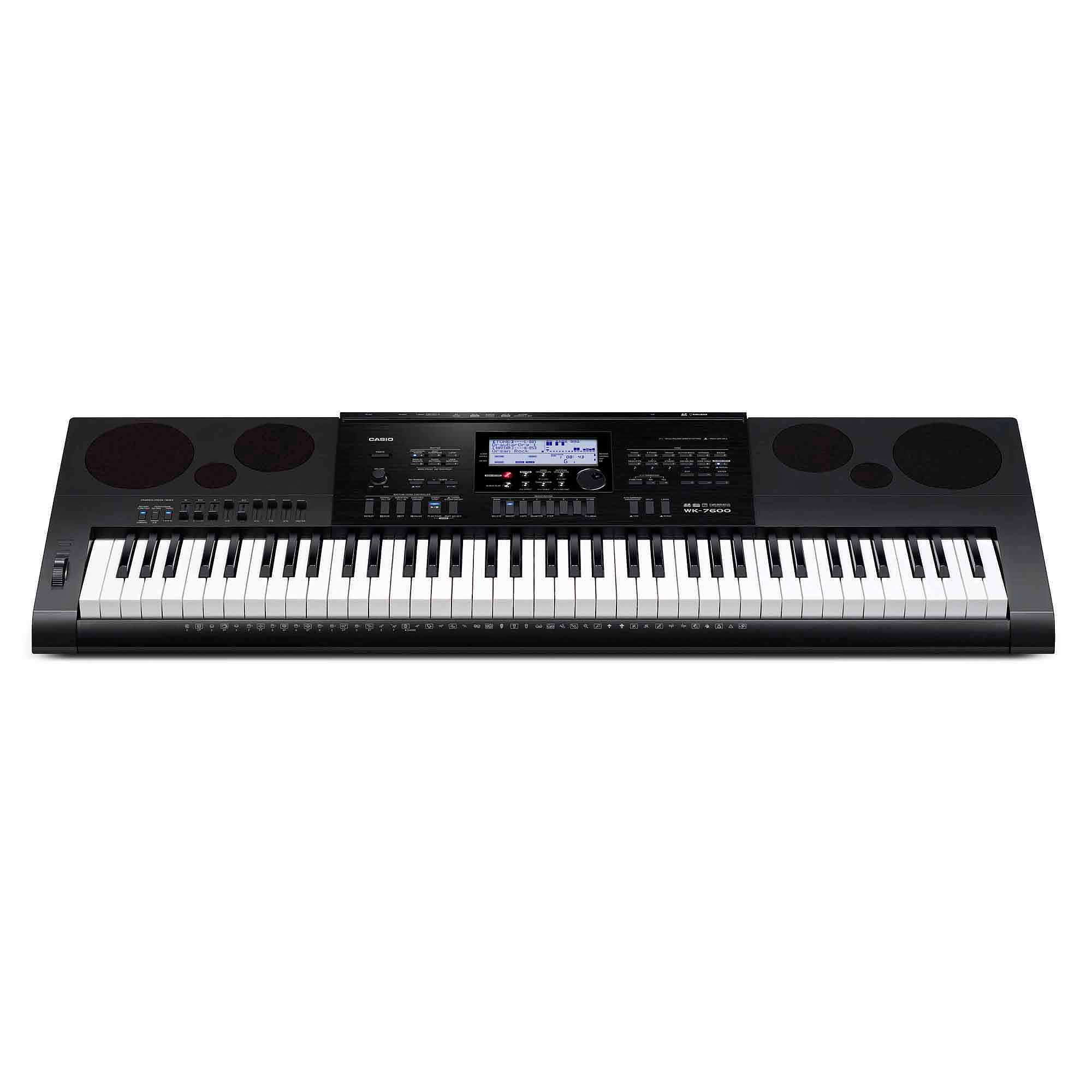 Casio WK-7600 76-Key Workstation Keyboard with Power Supply by Generic