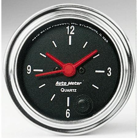 C3 C4 C5 C6 C7 Corvette 1968-2014+ Autometer 2-1/16 inch 12 Hour Clock -