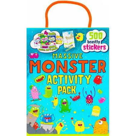 Massive Monster Activity Pack - Massive Mobster
