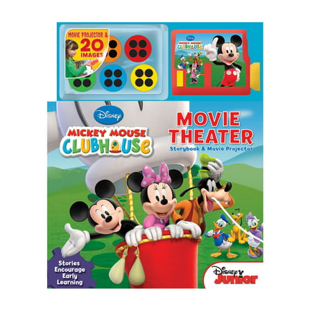 Disney Mickey Mouse Clubhouse Movie Theater : Storybook and Movie - Mickey Mouse Halloween Disney World