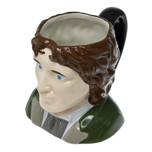 Doctor Who 8th Doctor Paul Mcgann Ceramic 3D Toby Jug Mug